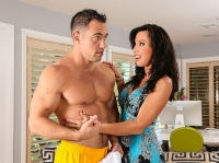 Lezley Zen with Johnny My Friends Hot Mom
