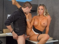 Samantha Saint and Xander Naughty Office