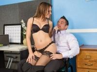 Callie Calypso and Johnny Naughty Office