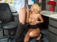 Kayla Kayden and Seth Naughty Office