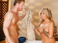 Madelyn Monroe and Ryan Tricky Spa