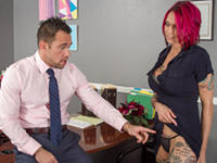 Too Many Tattoos Naughty Office