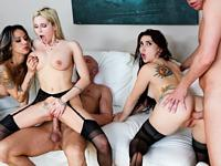Anal Swinger Orgy Clip 1 Le Wood