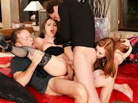 Slutty Girls 8 Fourway Rocco Siffredi