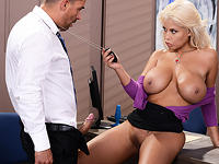 Titty Heist II The Negotiator Big Tits at Work