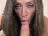 POV Blow Job Ariella Ferrera