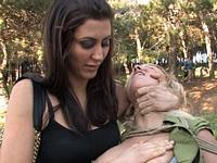 Spanish Model Yillie Public Disgrace