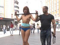 Model Bianca Resa Public Disgrace