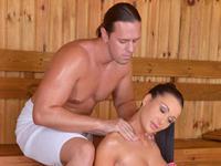 Sauna Titty Fuck DDF Busty