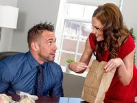 Stealing Her Lunch Naughty Office