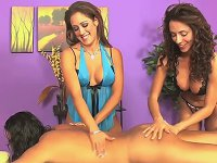 Massage Threesome Capri Cavanni
