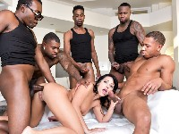 First IR Gangbang Adriana Dark X