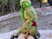 How The Grinch Gaped Christmas Joanna Angel