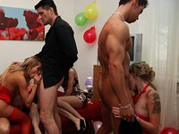 Glamorous Babes College Fuck Parties