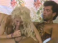 Blonde Bombshell Fucked Retro Raw