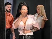 The Interns Turn Big Tits at Work