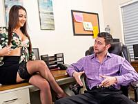 Attractive Boss Naughty Office