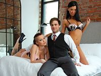 High Class Threesome Pegas Productions