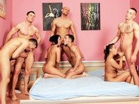 Forbidden Bisexual Orgy Scene 1 Male Digital