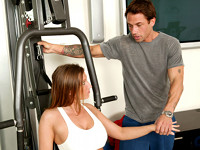 Her Trainer Seduced by a Cougar