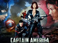 Captain America Digital Playground