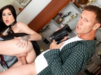 Threesome Audition Evil Angel